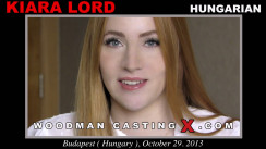 Casting of KIARA LORD video