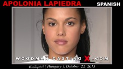 Casting of APOLONIA LAPIEDRA video