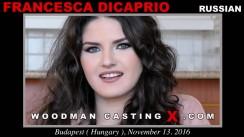 Casting of FRANCESCA DICAPRIO video