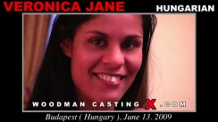 Casting of VERONICA JANE video