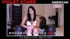 Casting of VIOLET STARR video