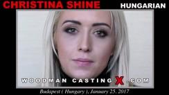 Casting of CHRISTINA SHINE video