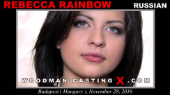 Casting of REBECCA RAINBOW video