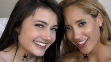 Chloe Amour and Adria Rae - XXXX - Lovely day with 2-guys