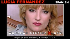 Casting of LUCIA FERNANDEZ video