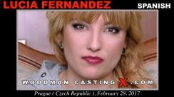 Casting of LUCIA FERNANDEZ video