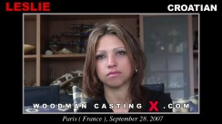 Casting of LESLIE video