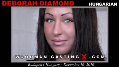 Casting of DEBORAH DIAMOND video