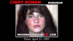 Casting of CINDY ROMAN video