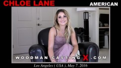 Casting of CHLOE LANE video