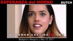 Casting of ESPERANZA DEL HORNO video