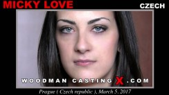 Casting of MICKY LOVE video