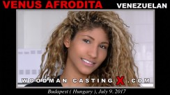Casting of VENUS AFRODITA video
