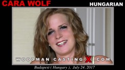 Casting of CARA WOLF video