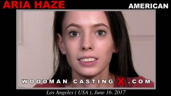 Casting of ARIA HAZE video