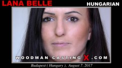 Casting of LANA BELLE video