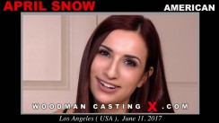 Casting of APRIL SNOW video