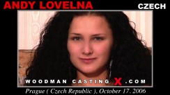Casting of ANDY LOVELNA video