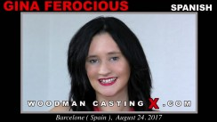 Casting of GINA FEROCIOUS video