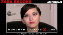 Casting of ZARA BROOKS video