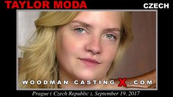 Casting of TAYLOR MODA video
